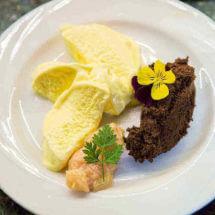 Recept advocaat semifreddo met chocolade mousse   simoneskitchen.nl