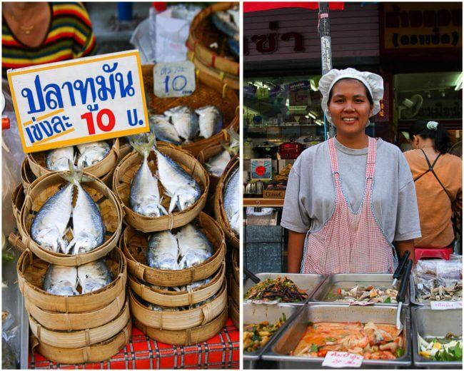 lokale markt in Chiang Mai | Simoneskitchen.nl
