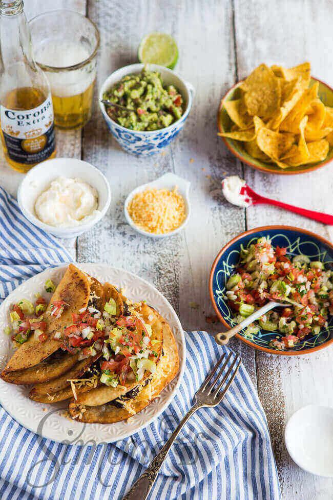 Dudefood dinsdag met gevulde tacos   simoneskitchen.nl