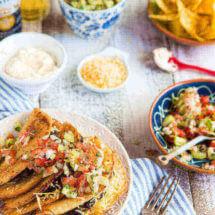 Gevulde taco's dudefood style | simoneskitchen.nl
