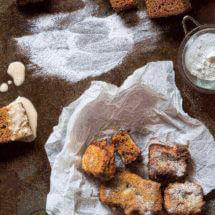 Gefrituurde ontbijtkoek