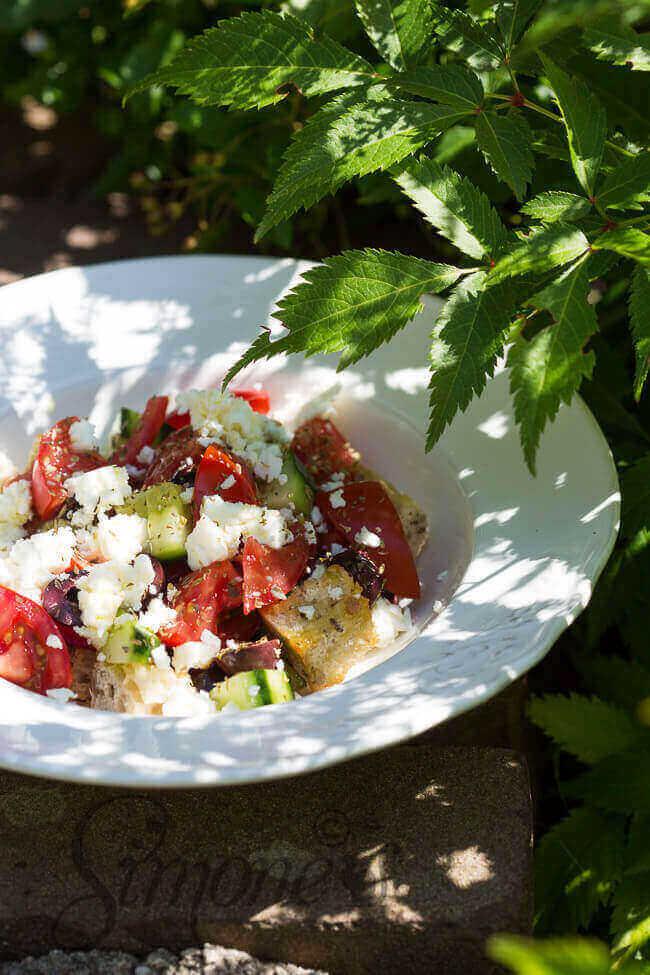 Originele Griekse salade van george colombaris | simoneskitchen.nl