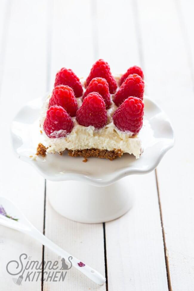 Supersnelle cheesecake