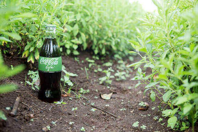 Coca cola life heeft een combinatie van stevia en suiker