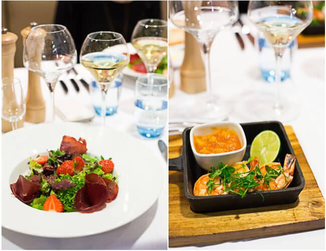Dineren in Blue Riband