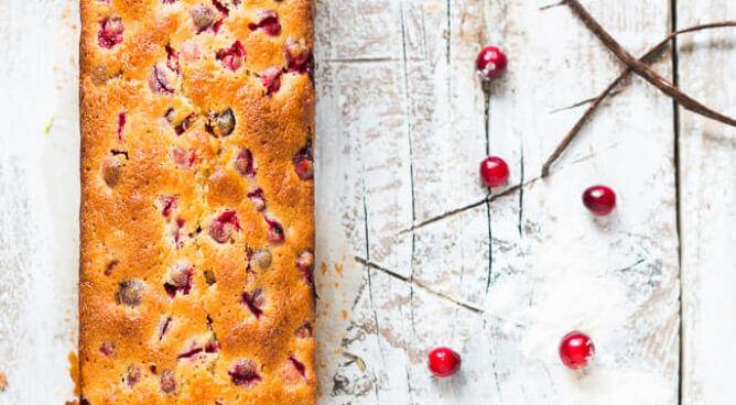 Cranberry cake | simoneskitchen.nl
