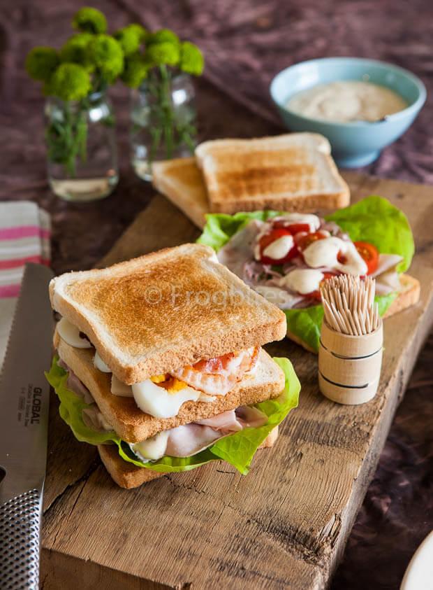 Club sandwich | simoneskitchen.nl