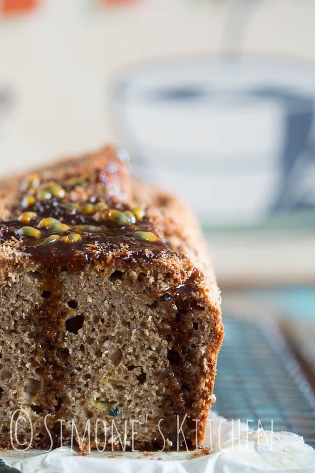 Glutenvrije citroen passievrucht cake | simoneskitchen.nl
