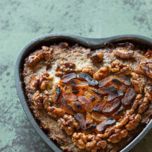 Valentijns gehaktbrood met abrikozen | simoneskitchen.nl