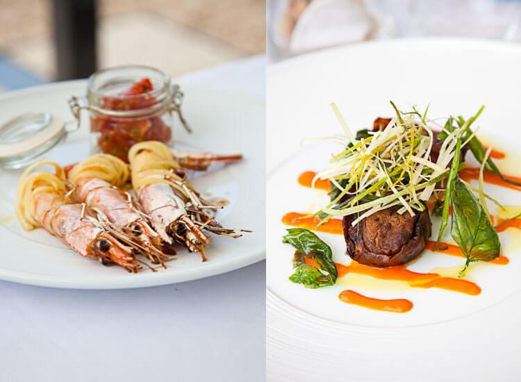 Lunch in Pienza Italie | simoneskitchen.nl