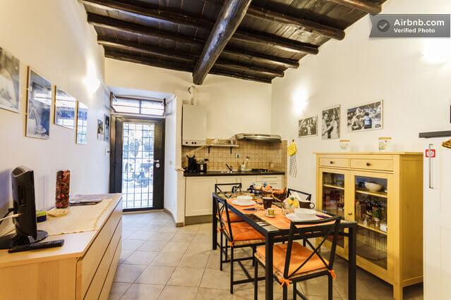Airbnb appartement trastevere Rome   simoneskitchen.nl