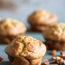 Bananen kwark muffins | simoneskitchen.nl