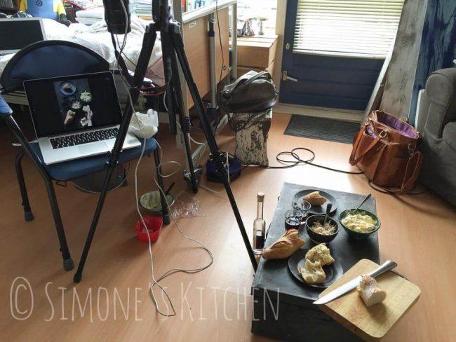 Behind the scenes kookboekshoot | simoneskitchen.nl