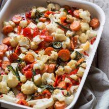 Geroosterde pittige groente | simoneskitchen.nl