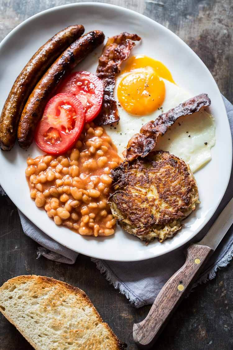 Engels ontbijt   simoneskitchen.nl