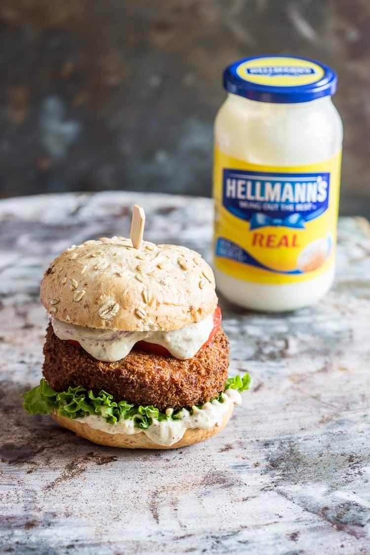 Kroketburger met mosterdmayonaise | simoneskitchen.nl