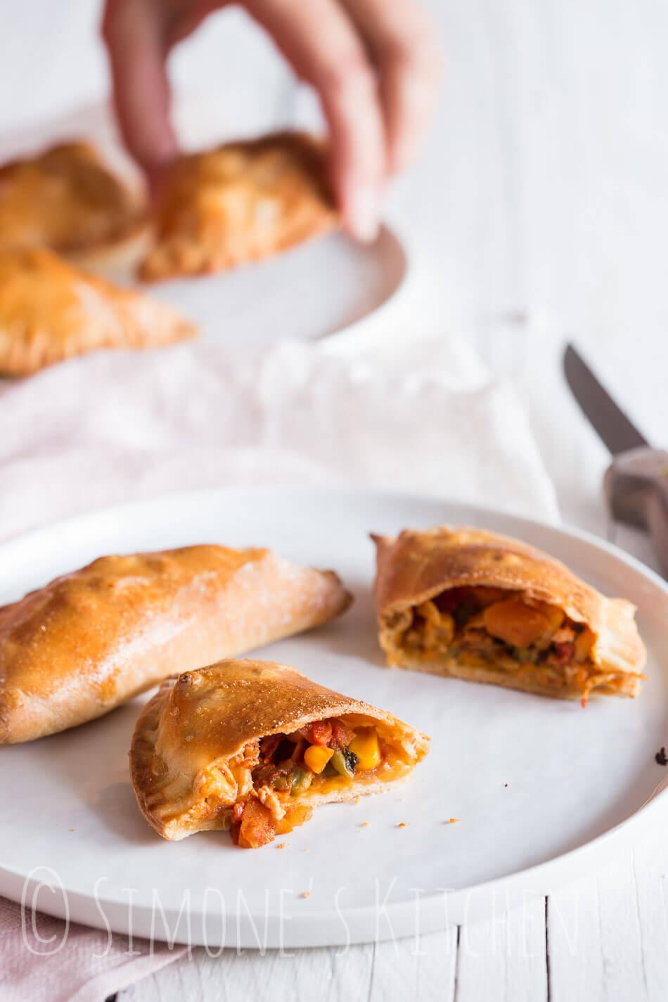 Huisgemaakte empanada   simoneskitchen.nl