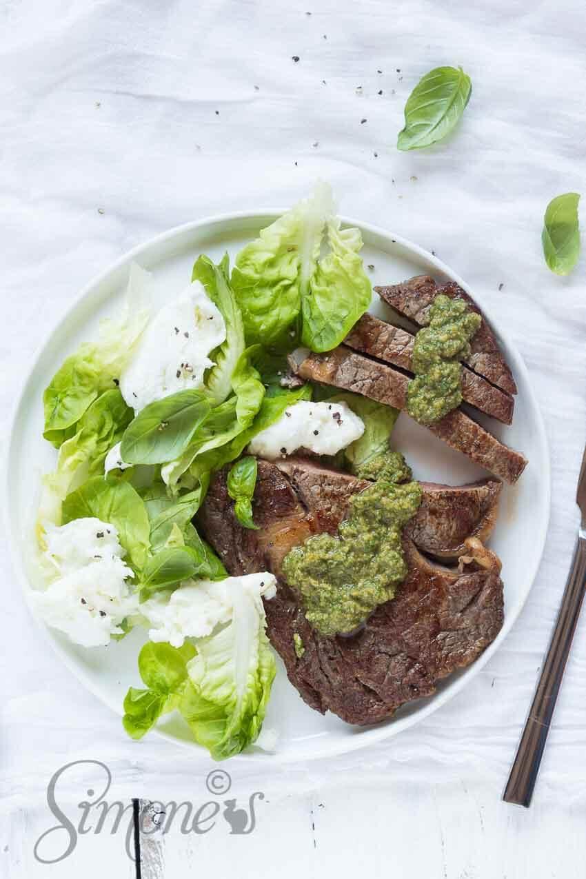 Steak met salsa | simoneskitchen.nl