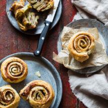Hartige bladerdeeg muffins | simoneskitchen.nl