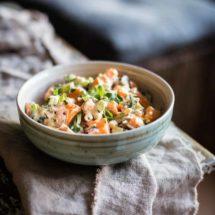 Zoete aardappelsalade | simoneskitchen.nl