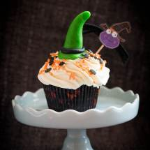 Halloween pompoen cupcakes   simoneskitchen.nl