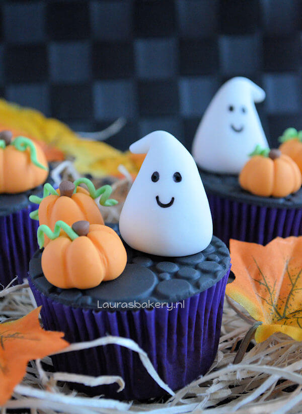 Halloween cupcakes van Laura | simoneskitchen.nl