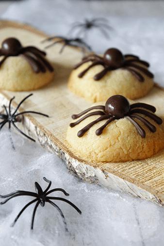 Spinnenkoekjes voor Halloween van Handmade Helen