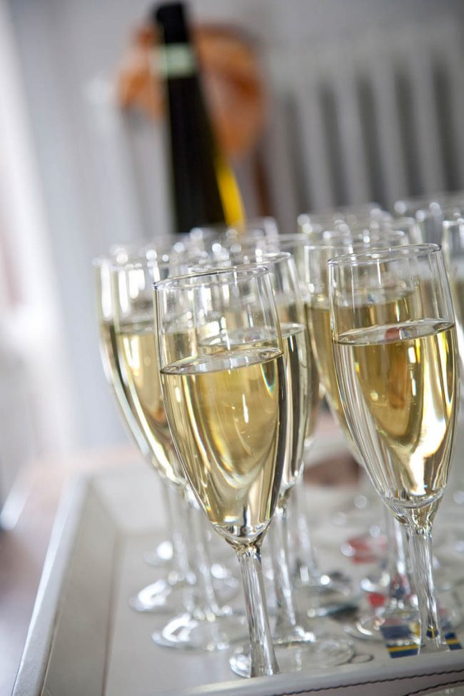 Champagne ready