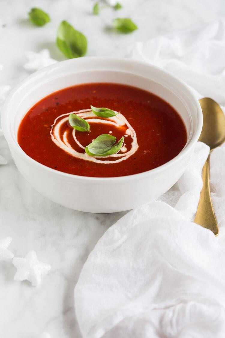 Supersnelle feestelijke soep | simoneskitchen.nl