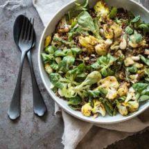 Geroosterde bloemkool met quinoa | simoneskitchen.nl