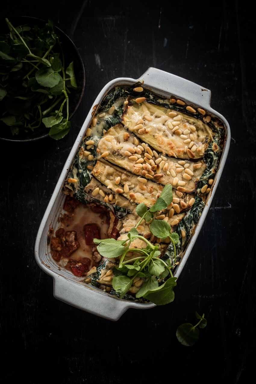 Vegetarische lasagne | simoneskitchen.nl