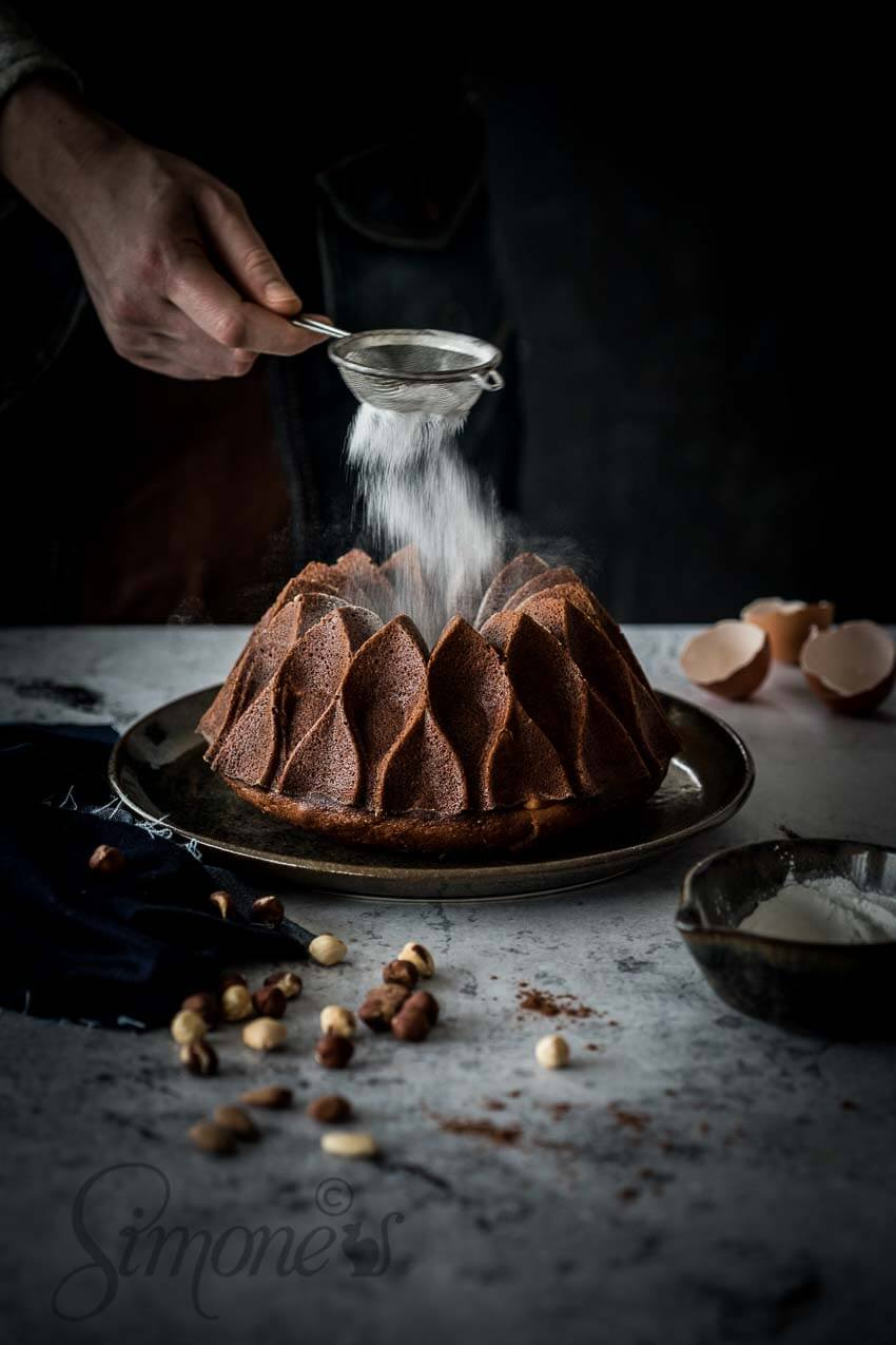 Chocolade hazelnoot tulband | simoneskitchen.nl
