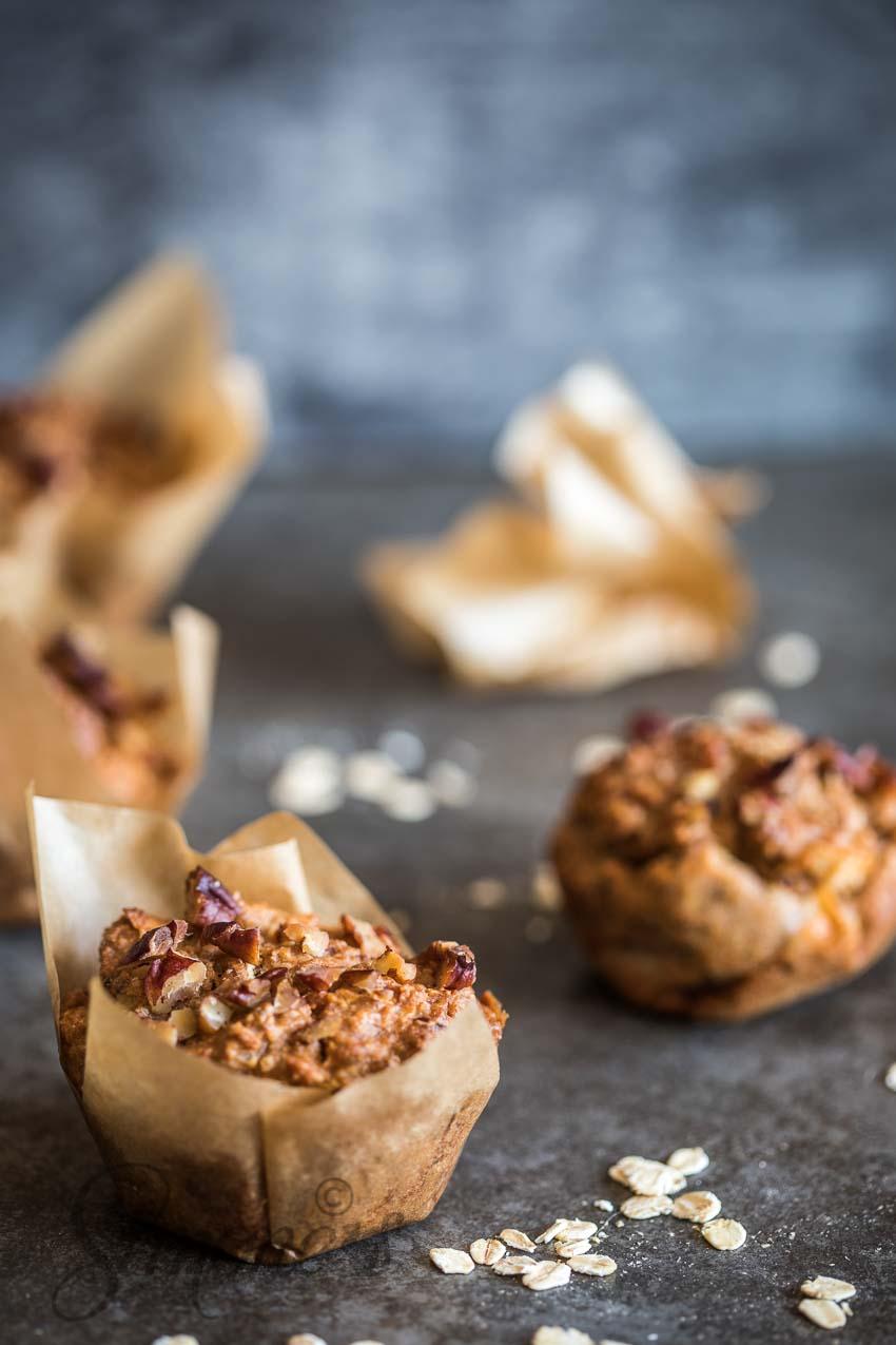Vegan ontbijtmuffins | simoneskitchen.nl