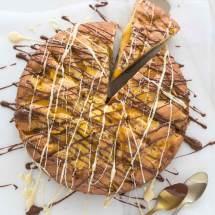 Mangotaart met chocola | simoneskitchen.nl