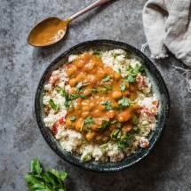 Vegetarische curry madras met bloemkoolcouscous | simoneskitchen.nl
