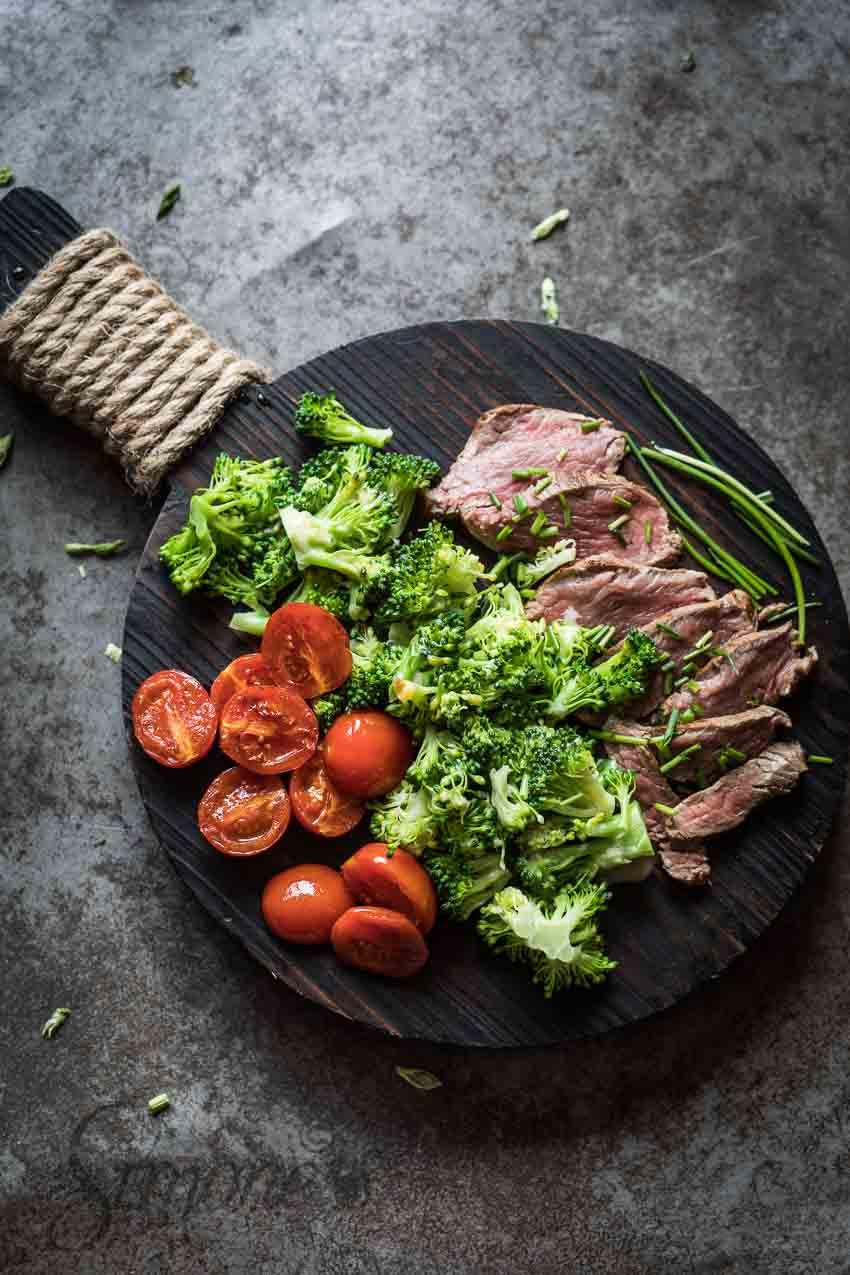 Broccolisalade met diamanthaas | simoneskitchen.nl