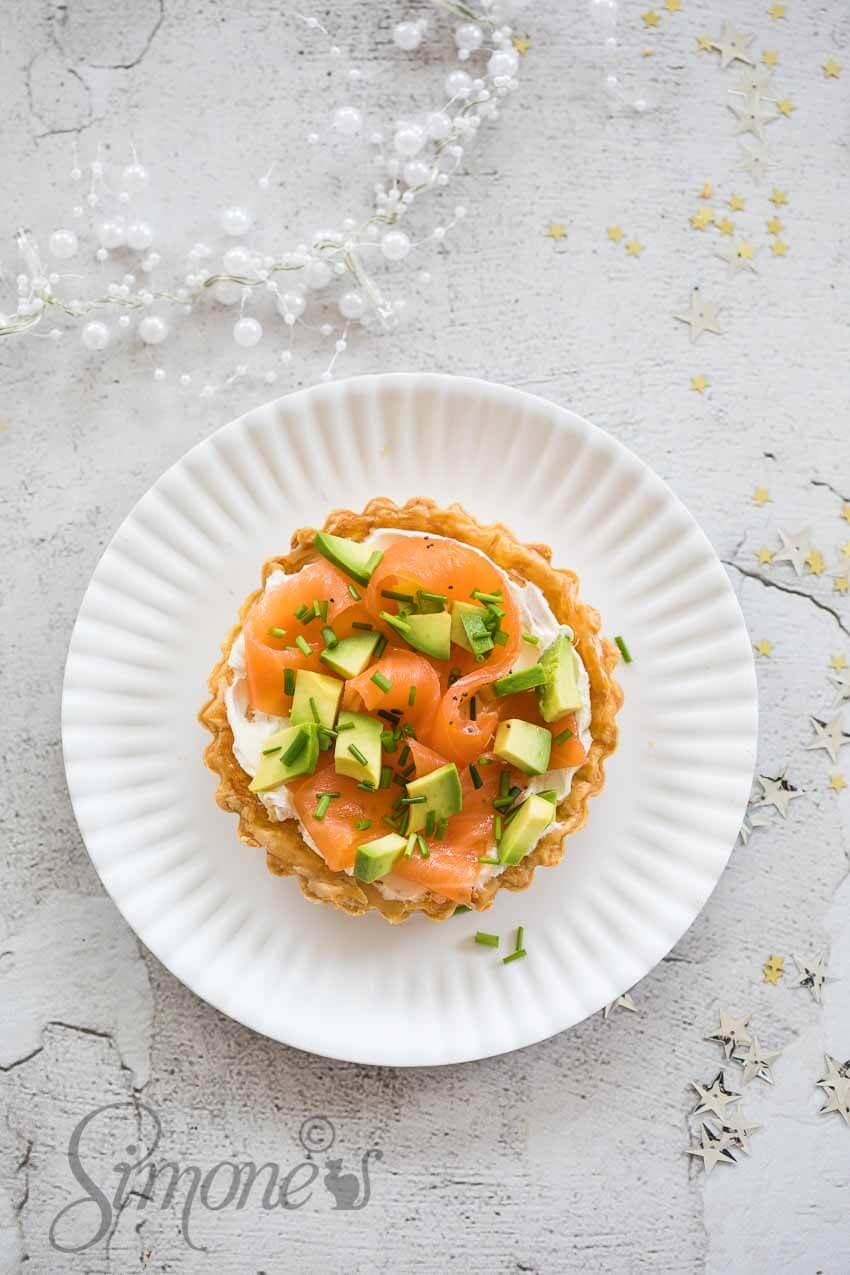 Snelle zalmbladerdeeg taartjes | simoneskitchen.nl