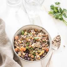 Quinoa met geroosterde wortels | simoneskitchen.nl