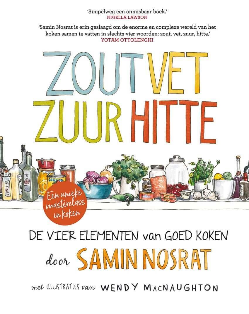 Cover zout vet zuur hitte | simoneskitchen.nl