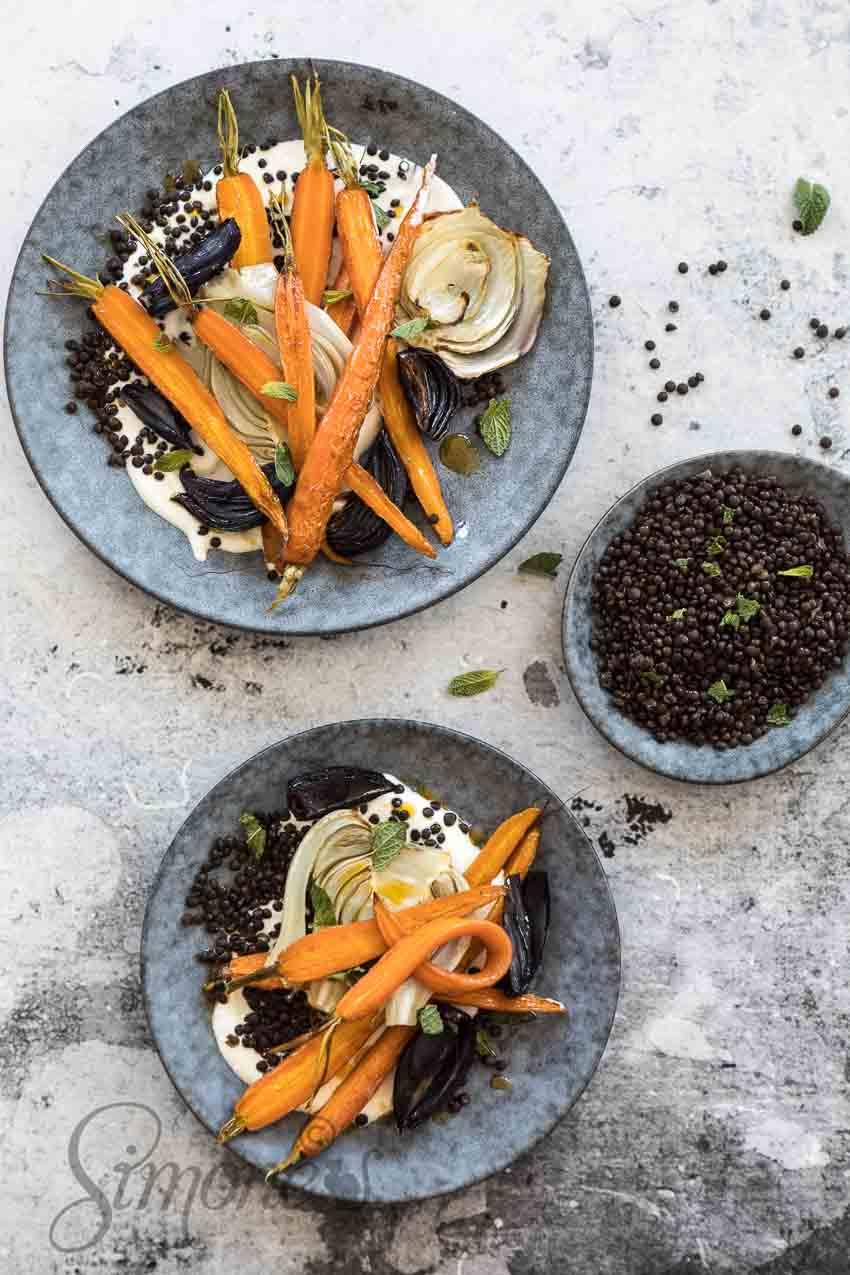 Geroosterde wortel met venkel | simoneskitchen.nl
