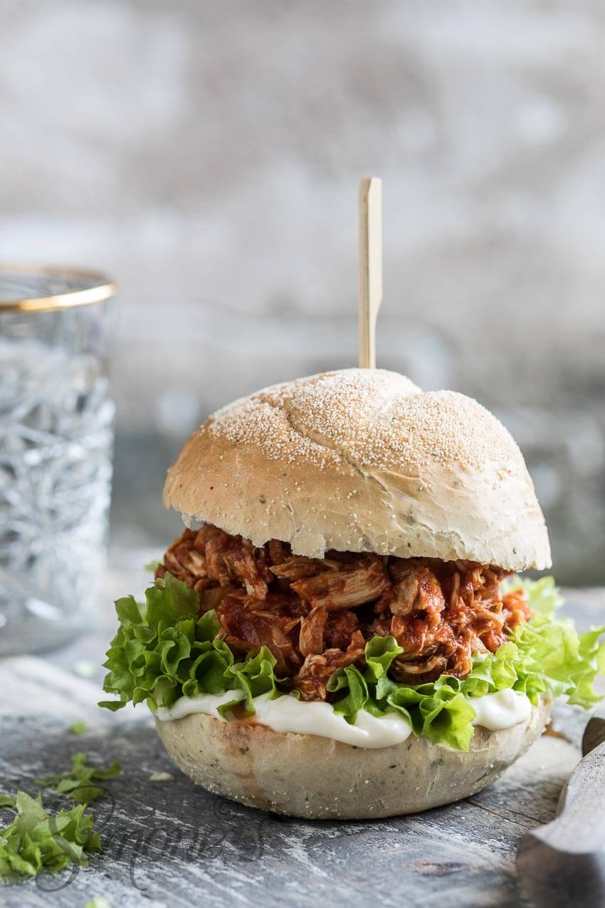 Pulled chicken | simoneskitchen.nl