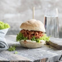 Pulled chicken sandwich | simoneskitchen.nl