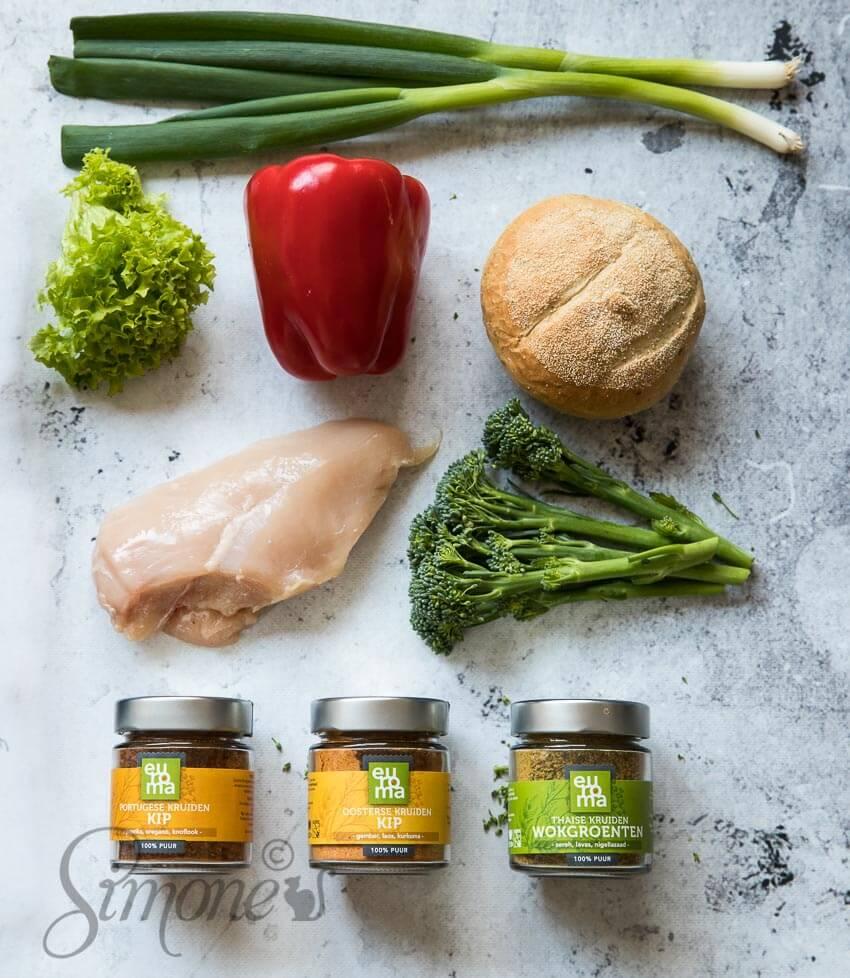 Variatie aanbrengen met kruiden en een paar ingredienten | simoneskitchen.nl