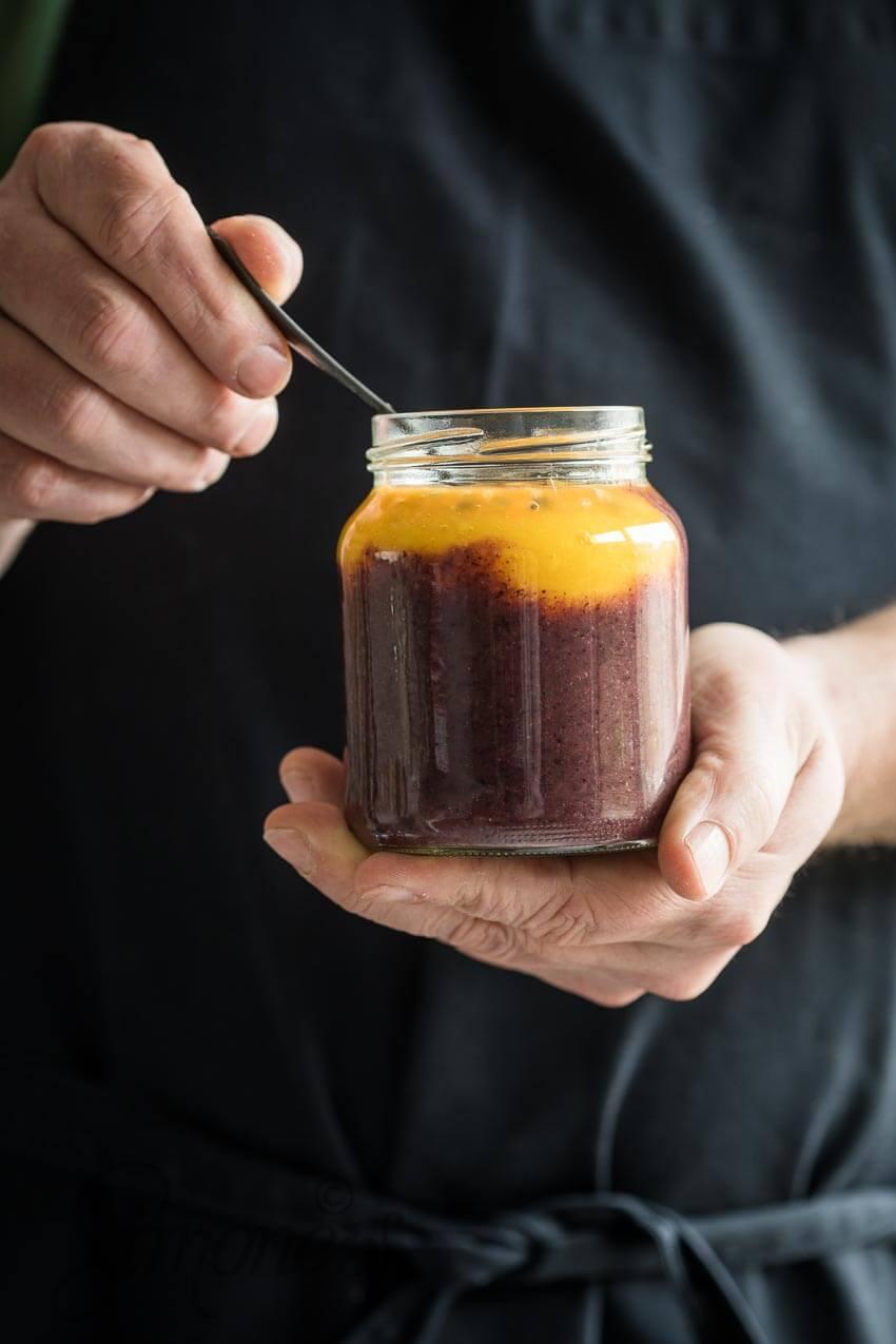 Zwarte rijstpudding met mango | simoneskitchen.nl