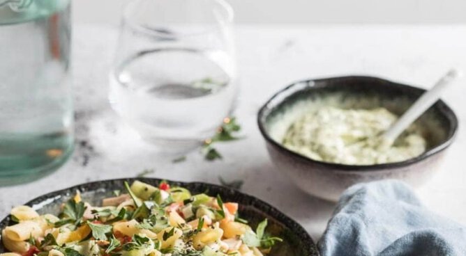 Snelle pastasalade | simoneskitchen.nl