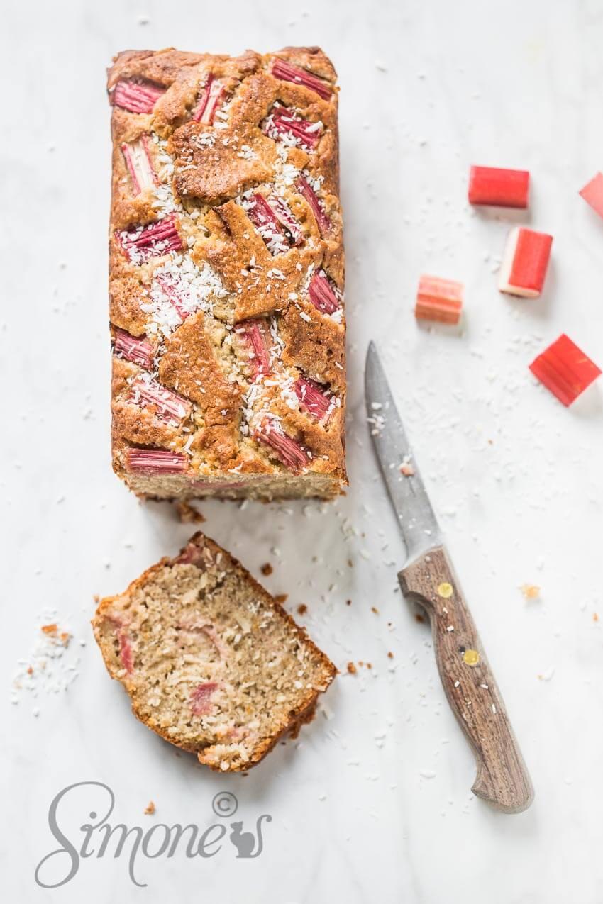 Glutenvrije rabarbercake | simoneskitchen.nl