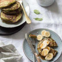 Banaan spinaziepannenkoekjes | simoneskitchen.nl