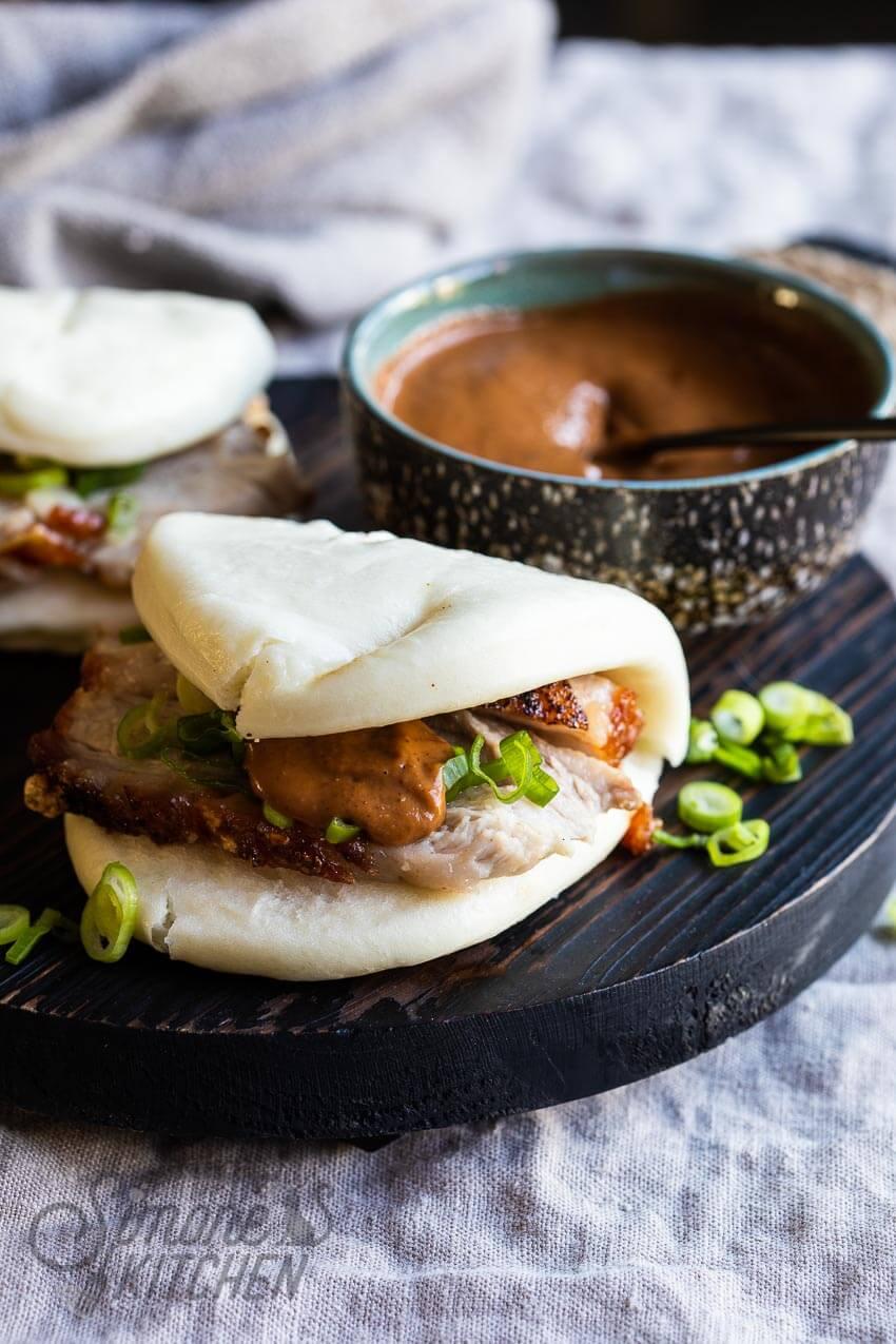 Heerlijke gestoomde chinese broodjes oftewel bahn bao