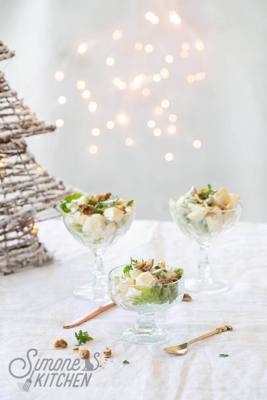 Lekker frisse waldorfsalade | simoneskitchen.nl