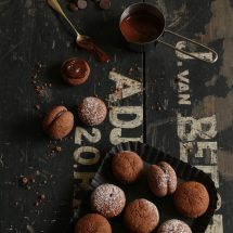 Baci di dama - chocoladekoekjes | simoneskitchen.nl
